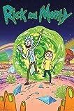 Cartoon Network Rick und Morty  Portal  Maxi Poste