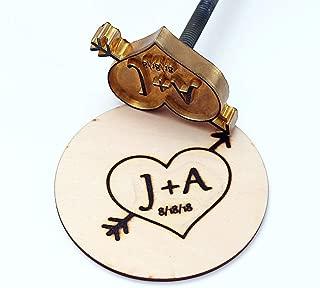 Custom Logo Wood Branding Iron,Durable Leather Branding Iron Stamp (1.5