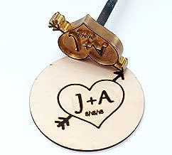 Custom Logo Wood Branding Iron,Durable Leather Branding Iron Stamp (2
