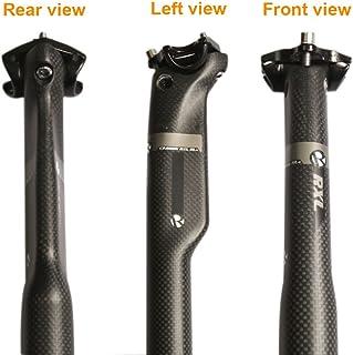 GANOPPER 350mm Doble Pernos Dise/ño Cerrado MTB BMX Mountain Bike Carretera Bicicleta Asiento Poste 27.2mm 28.6mm 30.9mm 31.6mm