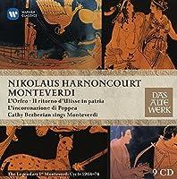 Monteverdi: 1st Opera Cycle by Nikolaus Harnoncourt (2014-05-27)