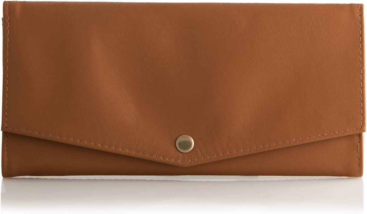 Outlet SALE Mule Strada Womens Wallet Leather Super beauty product restock quality top RFID Prot Slim Minimalist