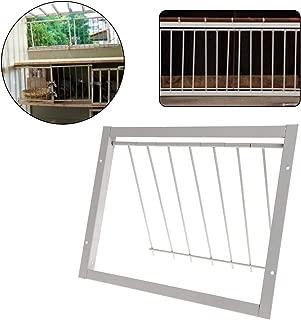 Dayloveme Pigeon Door Wire Bars Frame Entrance Trapping Doors Loft Supplies Racing Birds Catch Bar