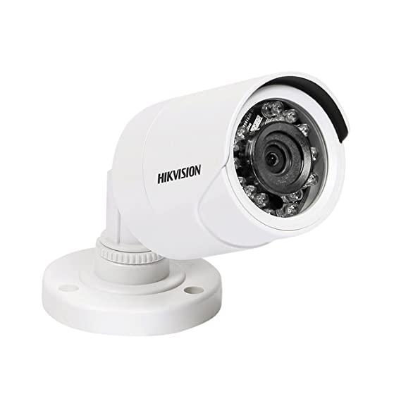 Hikvision 1MP CMOS IR Night Vision Bullet Camera (White)