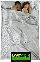 Grau 220x160 cm LOWLAND OUTDOOR/® H/üttenschlafsack