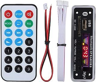 デコーダボード DC 5V / 12V デコードボード SDM01BT + U-DX 4色 5.0 FM APE FLACオーディオデコードボード ハンズフリー通話でき AUX、FM、USB、SDカード対応 MP3 / WMA/WAV/FLAC...