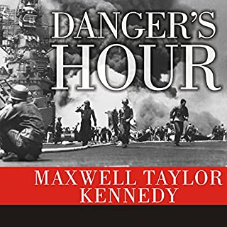 Danger's Hour audiobook cover art