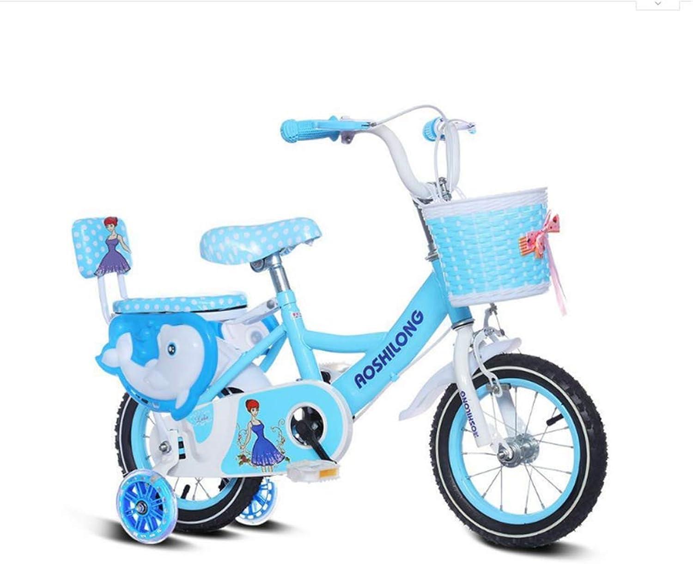 hermoso WY-Tong Bicicleta Infantil Infantil Infantil Bicicletas Infantiles Bicicleta para bebés de 2 a 6 años, Bicicleta para bebés Masculina y Femenina con estabilizador + Rueda de Flash  almacén al por mayor