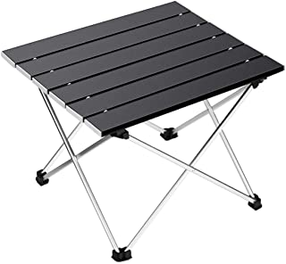 comprar comparacion Ledeak Portatiles Plegable Ultraligero Mesa de Camping con Superficie de Aluminio con Bolsa de Transporte, para al Aire Li...