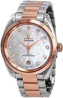 Omega - Seamaster Aqua Terra Madre Perla Diamante Dial 38 mm Reloj 220.20.38.20.55.001