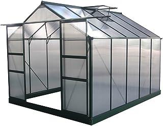 Viva Green 1299_ 69184Dahlia Invernadero de jardín policarbonato/plástico Verde árbol 7,67M² 308x 249x 226cm