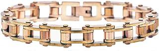 سوار بلاك جاك مجوهرات للرجال من الفولاذ المقاوم للصدأ
