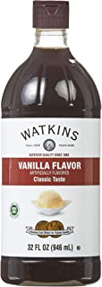 Watkins Vanilla Flavor Extract, 32 fl. oz. Economy Sized Bottle, 1 Count (21902)
