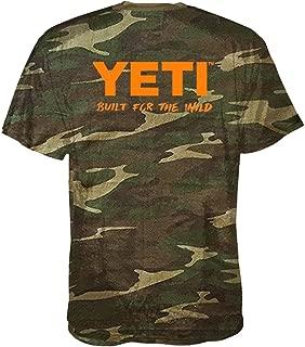YETI Built for The Wild T-Shirt Short Sleeve Camo Small
