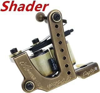 Thomas Shader Tattoo Machine Gun Brass Frame Handmade