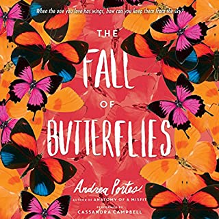 The Fall of Butterflies audiobook cover art