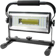 AF-WAN Led-bouwlamp, 100 W, werklamp met 6 dimniveaus, 6000 lumen, werklamp, bouwlamp, led-verlichting voor binnenplaats, ...