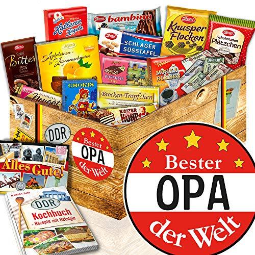 Bester Opa / DDR Paket / Geschenkidee Geburtstag