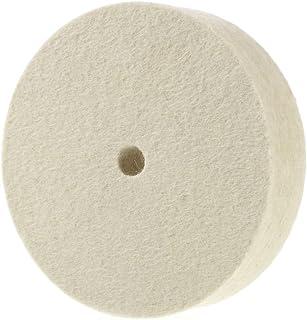 Premium 15cm 100% Organic Wool Felt Polishing Buffing Wheel 15cm