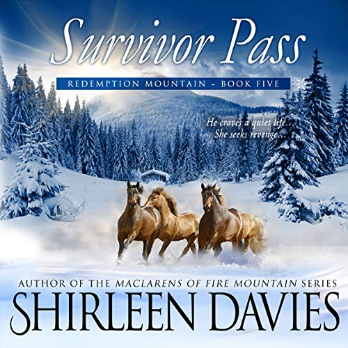 Survivor Pass     Redemption Mountain Historical Western Romance, Book 5              Written by:                                                                                                                                 Shirleen Davies                               Narrated by:                                                                                                                                 Roberto Scarlato                      Length: 7 hrs and 45 mins     Not rated yet     Overall 0.0