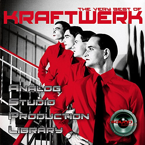 KRAFTWERK HUGE UNIQUE Original Analog Multi-Layer Studio Samples Library on DVD or for download