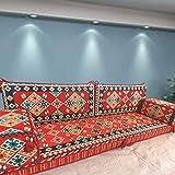 Spirit Home Interiors Bodensessel | Boden Sitz Sofa | Boden Couch | Ecksofa | Eckcouch | Schlafsofa | Orientalische sitzecke | Arabische Majlis