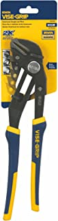IRWIN Tools VISE-GRIP GrooveLock Pliers, Straight Jaw, 12-inch (4935098)