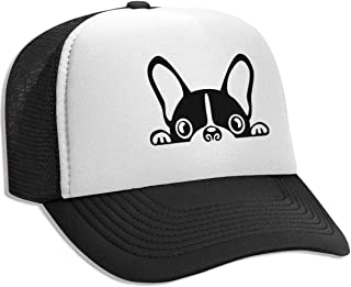 huge selection of 5f3dc f0335 Trucker Hat French Bulldog Mesh Baseball Caps with Adjustable Strap for Men  Women