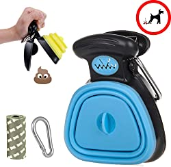 Pooper Scooper Portable Cleaning Tool Handle Grabber Pick up Jaw for Dog and Cats