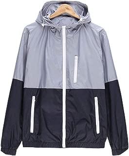 Mens Casual Jacket Outdoor Fashion Sportswear Windbreaker Lightweight Bomber Jackets New