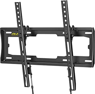 AM alphamount Tilting TV Wall Mount Bracket Fits 23-55 lnch LED LCD OLED Flat Screen/Curved TVs, Universal Low Profile Ult...