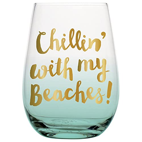 0d5d92b4c 20 oz Big Stemless Wine Glass with Funny Saying