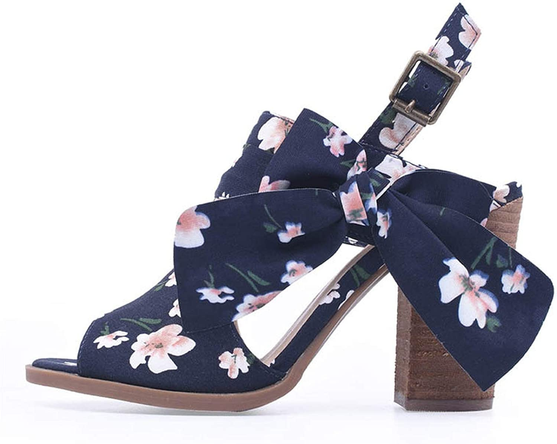 Shine-shine Sandals Black Buckle Rap for Women Chunky Heels Block Heel Lace Sandals Cut Out Size 6-10