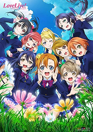 CWS Media Group Cws-22385 Love Live School Idol Project Anime Wall Scroll Poster