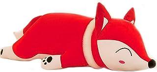 Ruzucoda Plush Fox Stuffed Animals Toys Dolls Hugging Animal Pillows Red 13 Inches