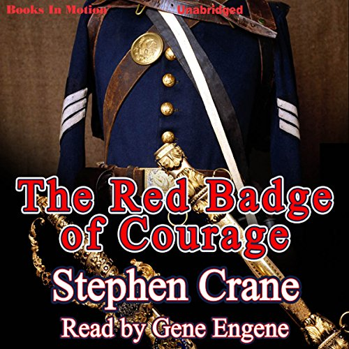The Red Badge of Courage audiobook cover art