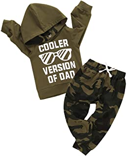 Toddler Baby Boys Clothes Letter Printed Hoodie...