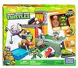 Turtles Mega Bloks Half-Shell Heroes Lair Playset Green