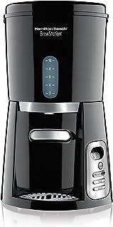 Hamilton Beach 10-Cup Coffee Maker, Programmable BrewStation Dispensing Coffee Machine (47380),Black