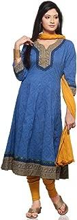 Vastra Vinod Women Cotton Anarakli Suit