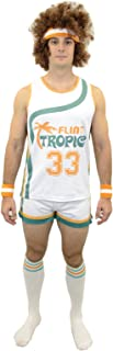 Semi-pro Jackie Moon Official Halloween Party Costume Shirt Pants Wig Socks Wristbands