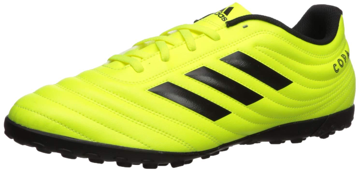 adidas Soccer Black Solar Yellow