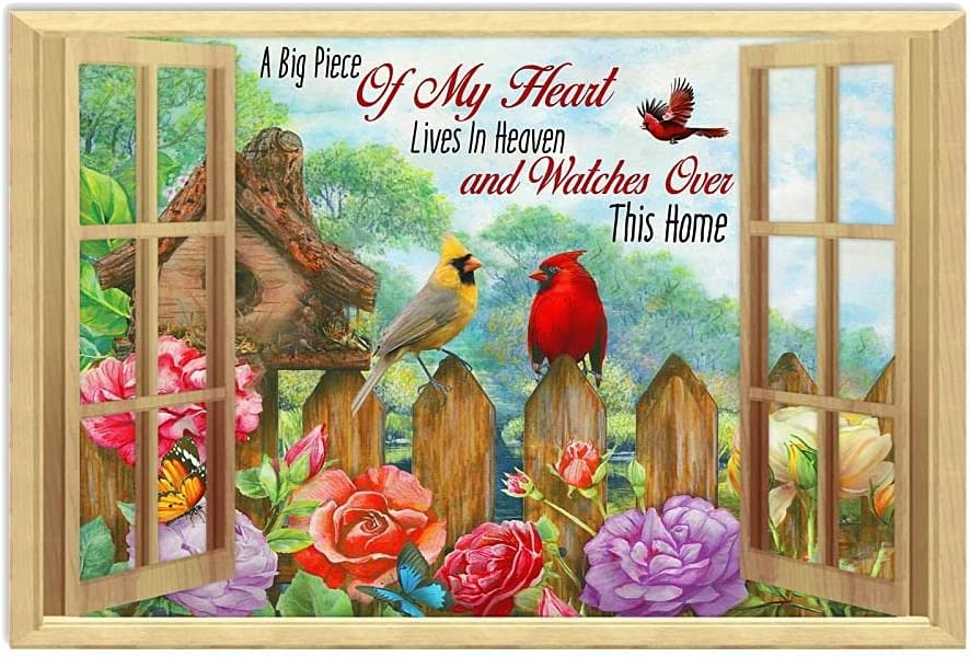 Cardinal A Big Piece Phoenix Mall of My All stores are sold Heart Poster in Lives Farmhous Heaven