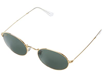 Ray-Ban 54 mm RB3547 Oval Metal Sunglasses