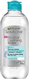 Garnier SkinActive Micellar Cleansing Water, For Waterproof Makeup, 13.5 Ounce