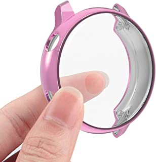 Compatible Samsung Galaxy Watch Active Screen Protector Case Cover,YiJYi Ultra Slim Soft Full Coverage Bumper[Sractch-Proo...