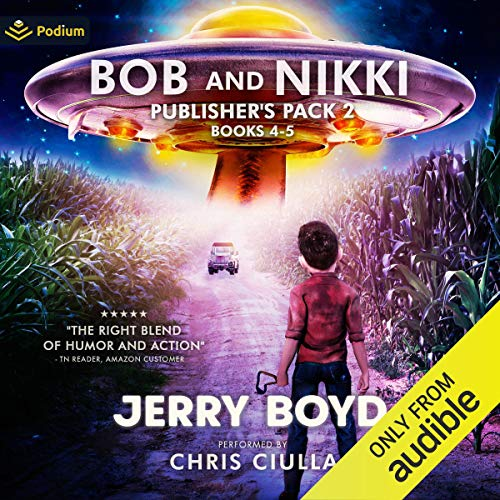 Bob and Nikki: Publisher's Pack 2 audiobook cover art