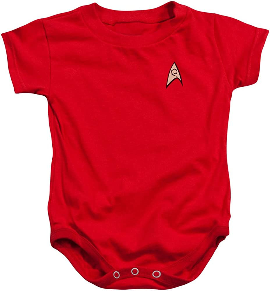 Infant: Star Trek - Free shipping New Enfineering Uniform Onesie Infant Beauty products 18 Size Mo