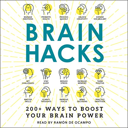 Brain Hacks audiobook cover art