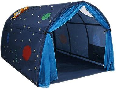 Dreamworldeu Túnel para camas altas y literas, cama infantil, color azul marino